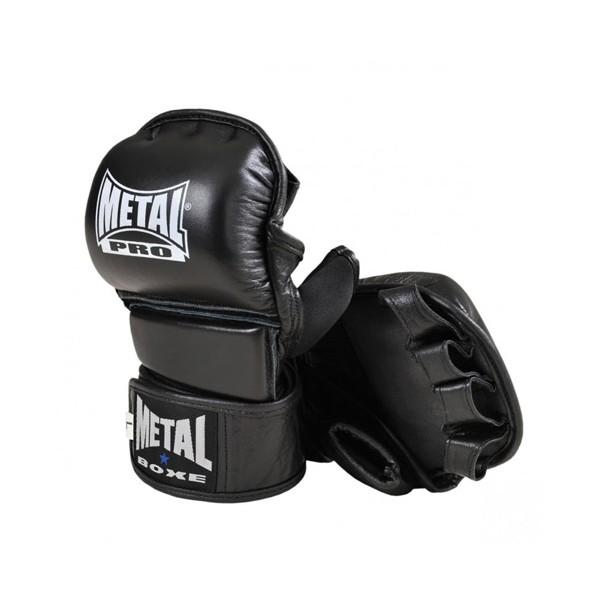 Gants de MMA comp. MB, Cuir, mousse injectée & néoprène, T. XL - NOIR