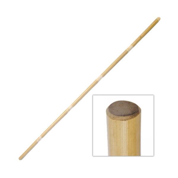 Bâton 152 cm (diam. 2,5 à 2,8 cm) - Rotin avec écorce