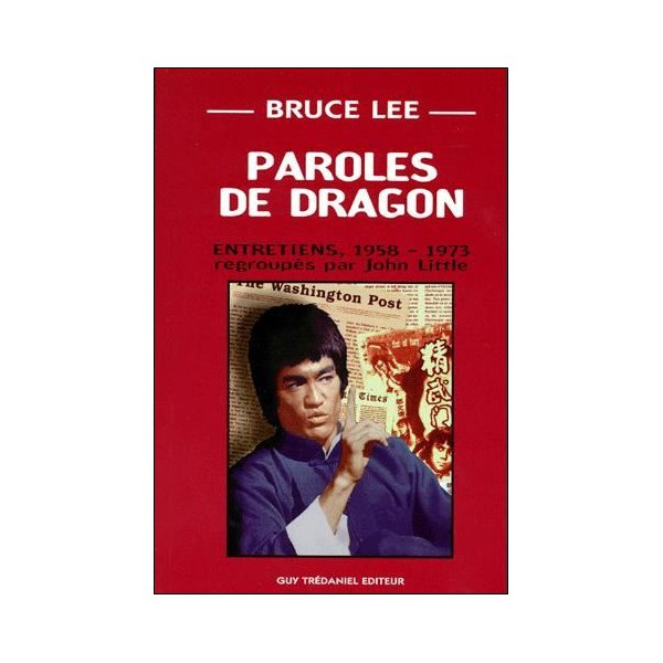 Paroles de dragon Bruce Lee  - John Little