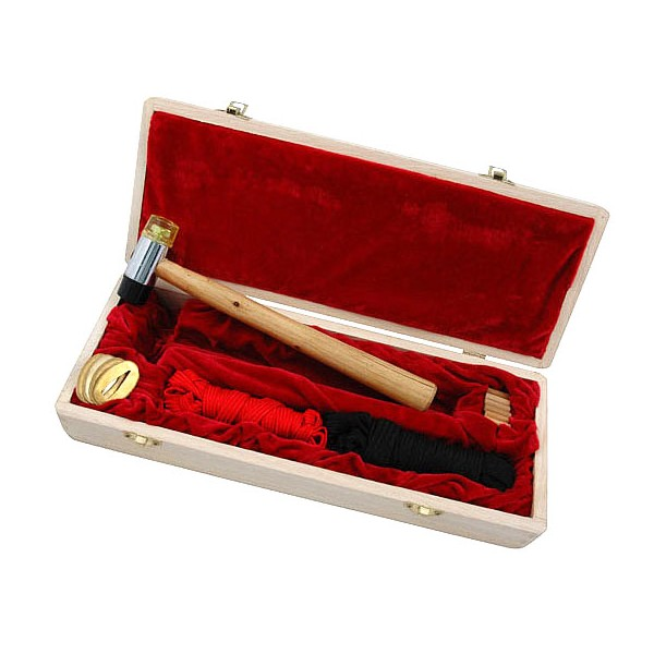 Set de réparation complet pour sabres japonais, coffret en bois