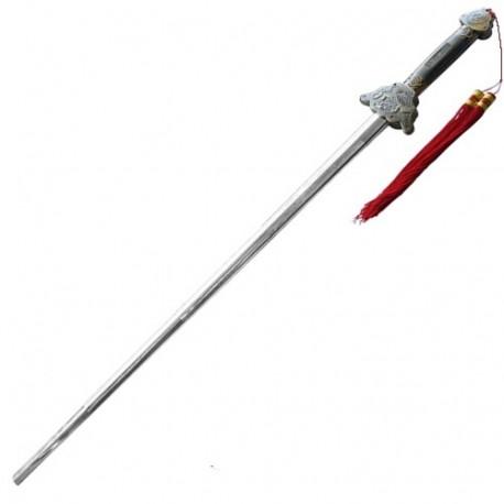 Epée télescopique avec étui de transport, lame de 70 cm
