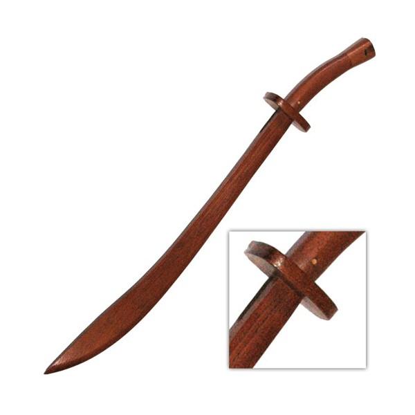 Sabre de Kung-Fu en bois, lame de 69 cm - Chêne rouge