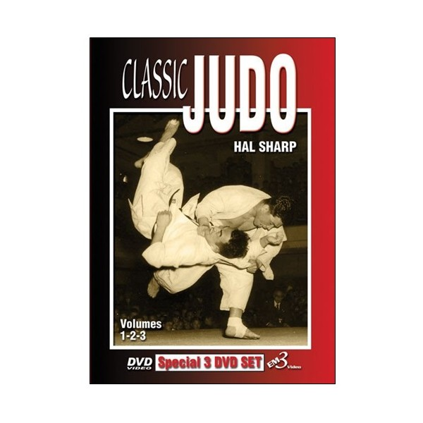 Classic Judo vol.1,2,3 - Hal Sharp (angl) 3dvd