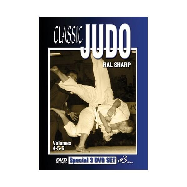 Classic Judo vol.4,5,6 - Hal Sharp (angl) 3dvd