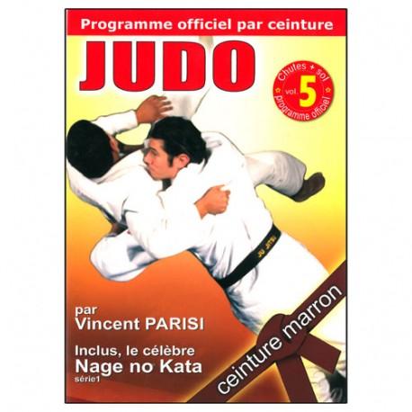 Judo programme par ceinture (marron) Vol.5 - Parisi