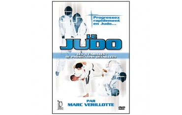 Le Judo, les 4 familles de projections - Marc Verillotte