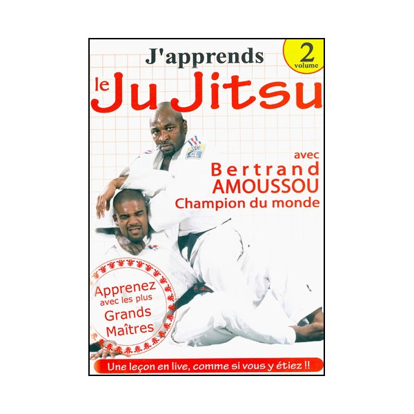 J'apprends le Ju-Jitsu Vol.2 - Bertrand Amoussou