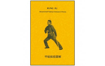 Kung Fu, advanced staff fighting techniques in pictures - Master Chao (livre en anglais)
