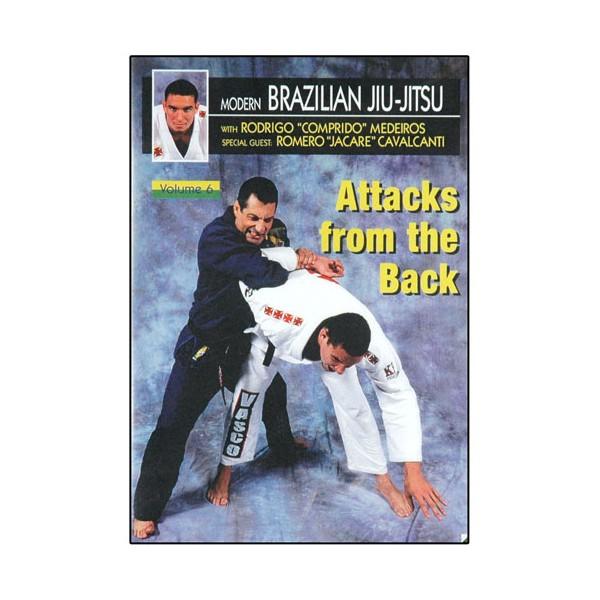 Brazilian Jiu-Jitsu, déf. & contres sur attaq ds le dos - Comprido