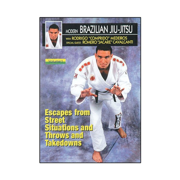 Brazilian Jiu-Jitsu, projections, takedowns, self-défense - Comprido