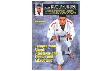 Brazilian Jiu-Jitsu, projections, takedowns, self-défense - Comprido