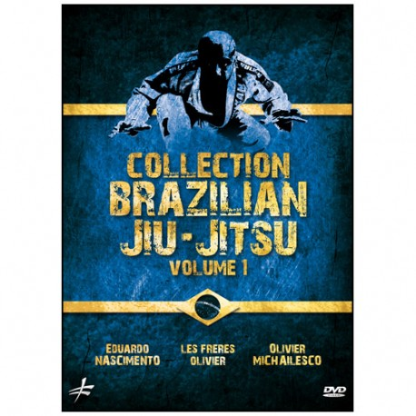 Coffret collection Brazilian Jiu-Jitsu (dvd291-295--300)