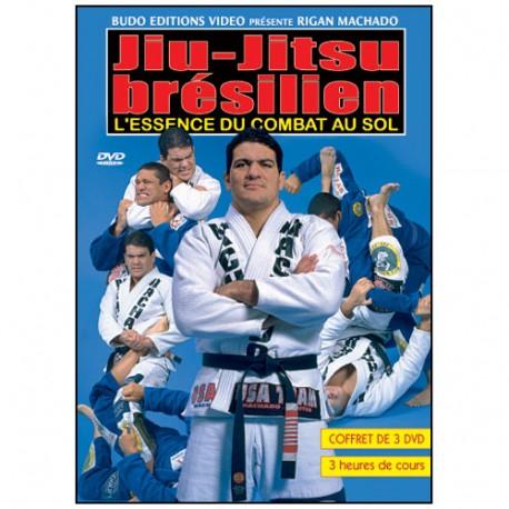 Jiu-Jitsu Brés., l'essence du combat au sol (coffret 3 DVD) - Machado