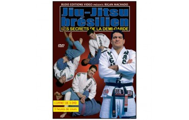 Jiu-Jitsu Brés., secrets de la demi garde (coffret 3 DVD) - R Machado