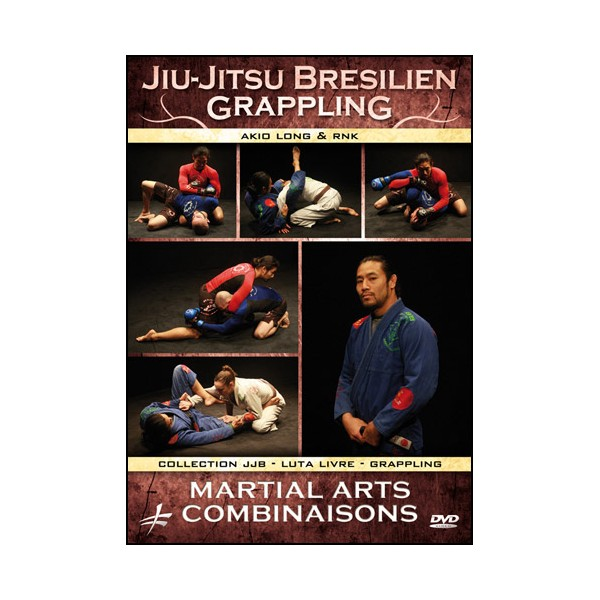 Jiu-Jitsu Brésilien Grappling : Martial arts combinaisons - Long