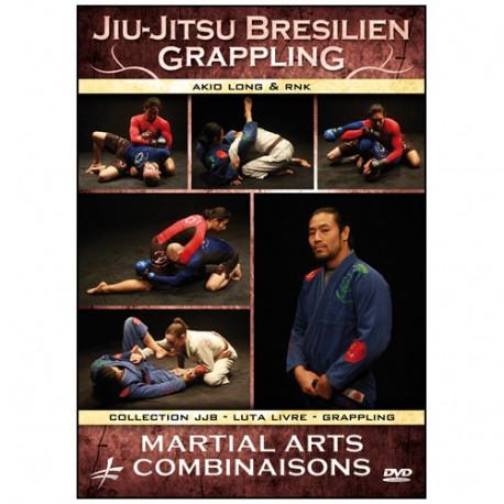 Jiu-Jitsu Brésilien Grappling : Martial arts combinaisons - Long