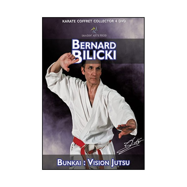 Coffret 4 DVD collector Bernard Bilicki