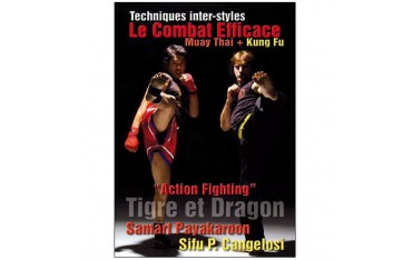 "Techniques inter-styles, le combat efficace Muay ThaÏ + Kung Fu, ""Action Fighting"" - Samart Payakaron & Sifu P. Cangelosi"