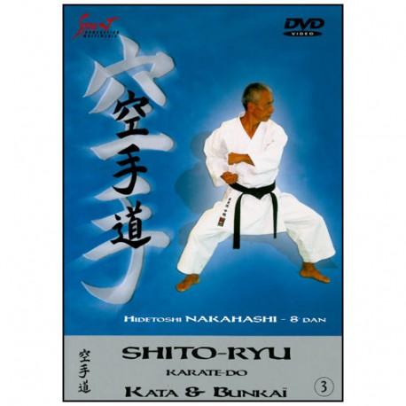 Karaté Shito Ryu, Kata & Bunkai vol.3 - Hidetoshi Nakahashi
