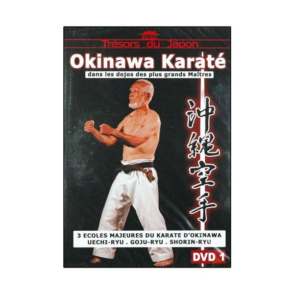 Okinawa Karaté Vol.1, écoles : Uechi-Ryu, Goju-Ryu, Shorin-Ryu