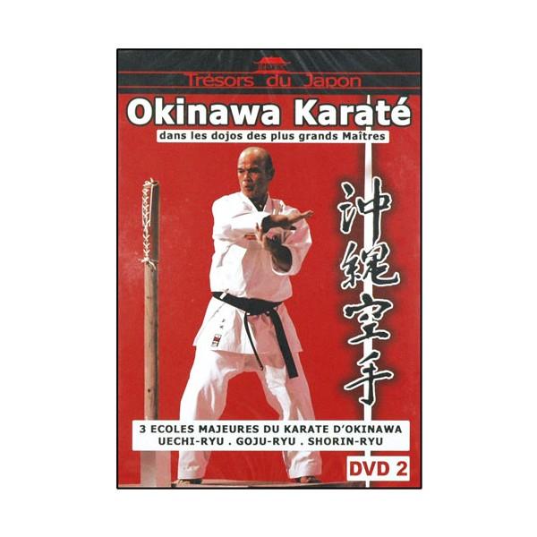 Okinawa Karaté Vol.2, écoles : Uechi-Ryu, Goju-Ryu, Shorin-Ryu