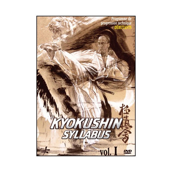 Kyokushin Syllabus Vol.1 prog de progression tech débutants - Shihan
