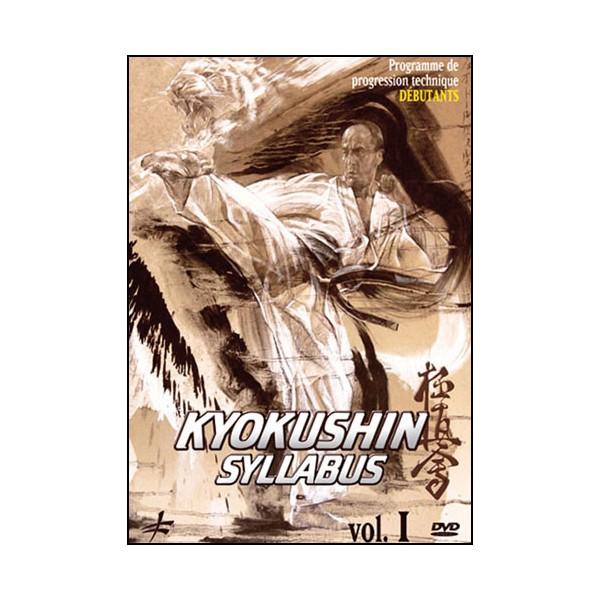 Kyokushin Syllabus Vol.1 prog de progression tech débutants - Shihan