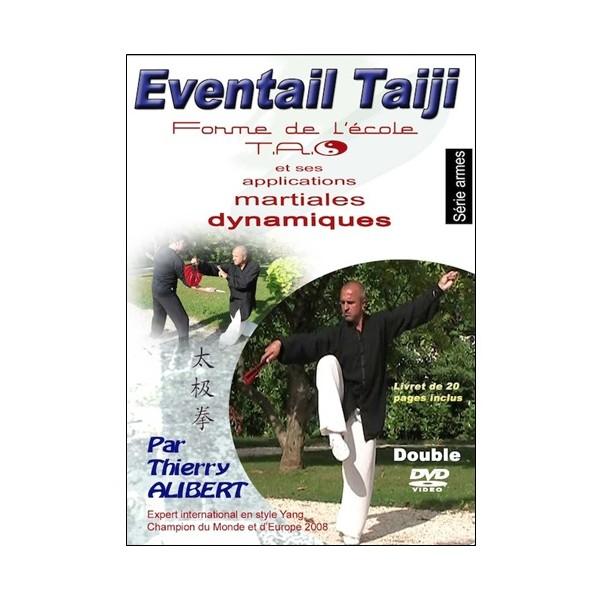 Eventail Taiji & appli. martiales dynamiques - Alibert (2 dvd+livret)