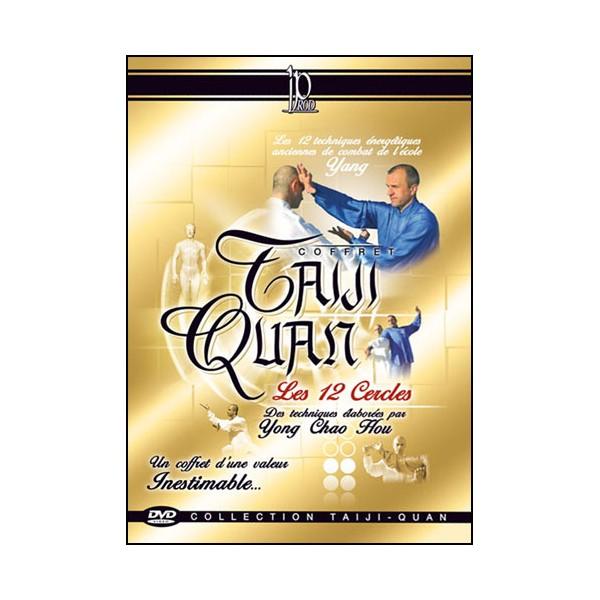 Coffret Les 12 cercles énergétiques (dvd.138- dvd.139- dvd.140)