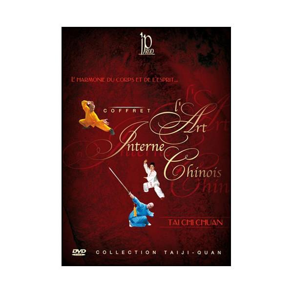 Coffret Les Arts martiaux internes (dvd.71- dvd.141- dvd.142)