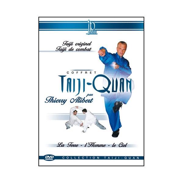 Coffret Taiji-Quan (dvd.48- dvd.61- dvd.77)