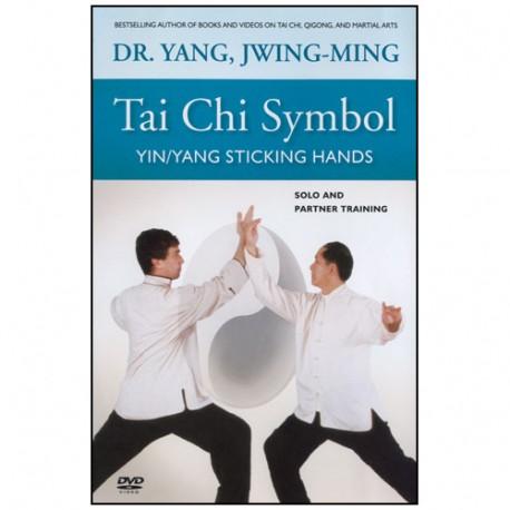 Tai Chi Symbol yin/yang sticking hands - Yang Jwing-Ming (Ang)