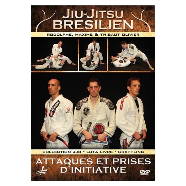 Jiu-Jitsu Bresilien vol.5 attaques et prises d'initiative -- Olivier