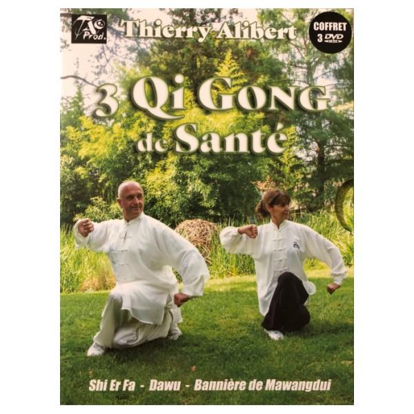 3 Qi Gong de santé - Thierry Alibert  (3 dvd)