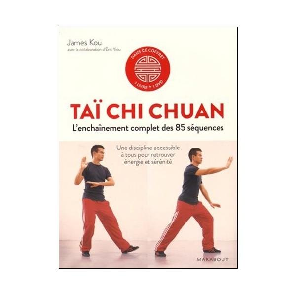 Taï Chi Chuan l'enchaînement complet des 85 sequences - J Kou (+dvd)