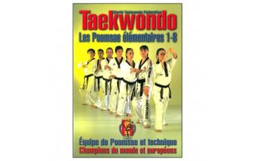 Taekwondo W.T.F., les poomsae élémentaires 1-8 - Equipe d'Espagne de Poomsae et technique, champions du monde et européens