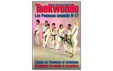 Taekwondo W.T.F., les poomsae avancés 9-17 - Equipe d'Espagne de Poomsae et technique, champions du monde et européens