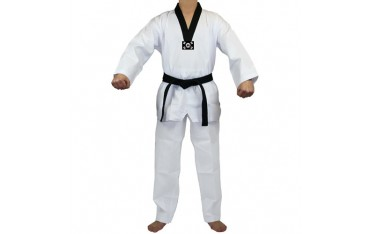 "Tenue Taekwondo ""Luxe"" col noir"