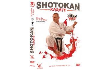 Shotokan Karate  Vol.3 Kata du 1er & 2e dan - Jean-Pierre Fisher