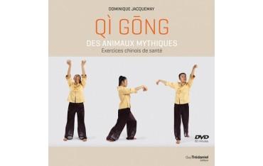 Qi gông dse animaux mythiques, exercices de santé - Dominique Jacquemay (+DVD)