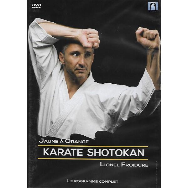 Karate Shotokan le programme complet, jaune à orange - Lionel Froidure