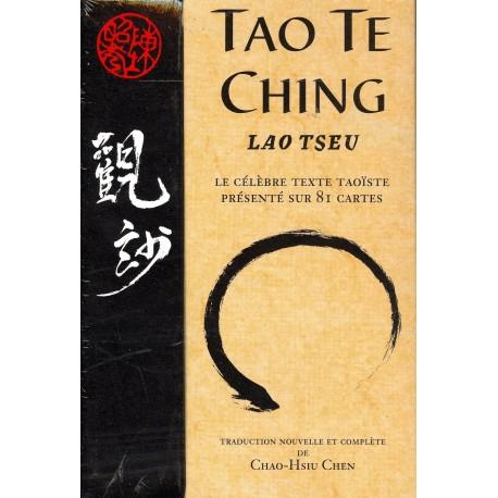 Tao Te Ching présenté sur 81 cartes - Lao Tseu