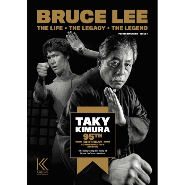 Bruce Lee, the life - the legacy - the legend, issue 1 - Magazine en poster 84,10x59,40cm (en anglais)