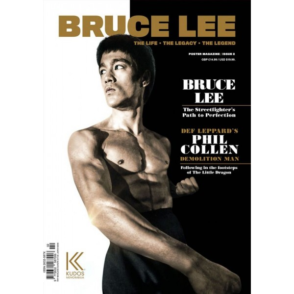 Bruce Lee, the life - the legacy - the legend, issue 2 - Magazine en poster 84,10x59,40cm (en anglais)