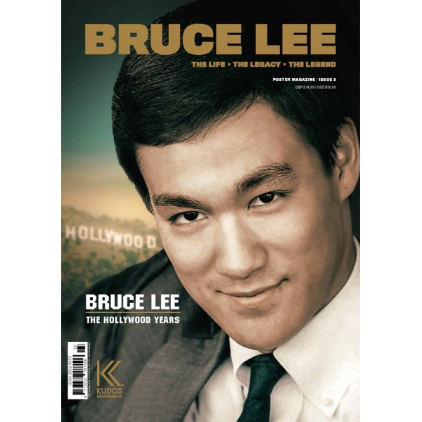Bruce Lee, the life - the legacy - the legend, issue 3 - Magazine en poster 84,10x59,40cm (en anglais)