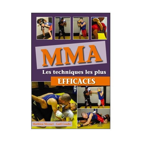 MMA Les techniques les plus efficaces - M Nicourt/G Coadic