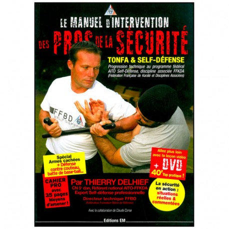 Manuel d'intervention des Pros de la Sécurité (DVD inclus) - Delhief