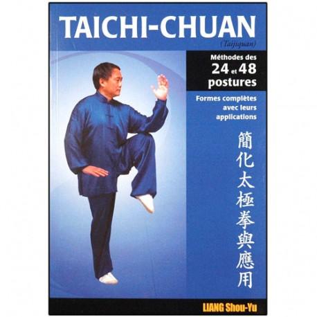 Taichi-Chuan, méth. des 24 et 48 postures avec appl. - Liang Shou-Yu