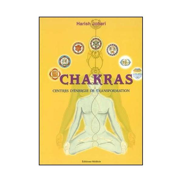 Chakras centres d'énergie de transformation - Harish