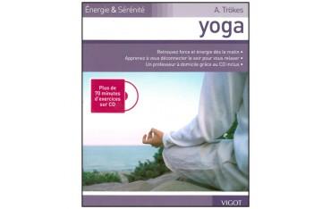 Yoga - A. Trökes (livre et plus de 70 minutes d'exercices sur CD)